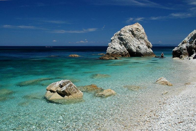 La spiaggia di Sansone è una delle più belle dell'Isola d'Elba